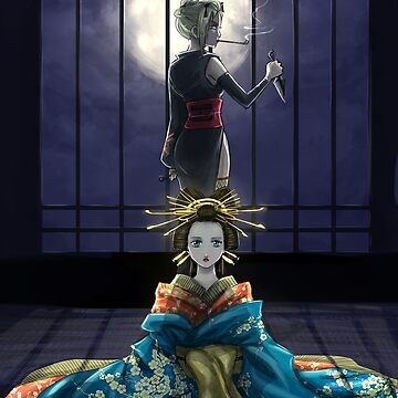 Moon and Sun will oiran by Jeannette11
