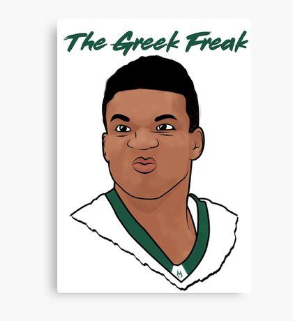 The Greek Freak Canvas Print