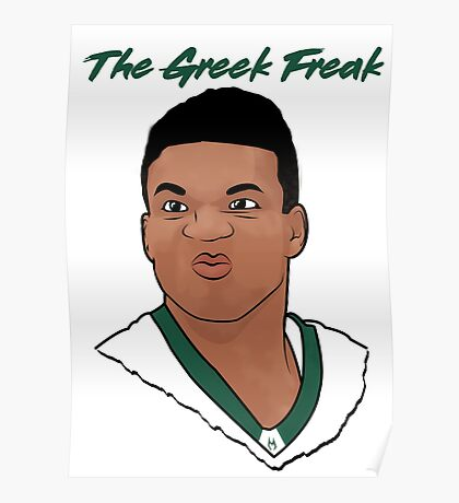 The Greek Freak Poster