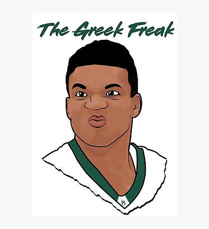 The Greek Freak Photographic Print