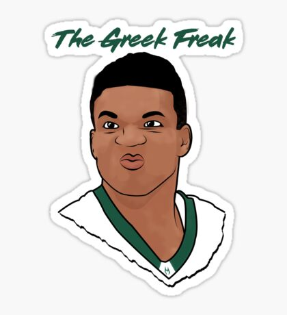 The Greek Freak Sticker