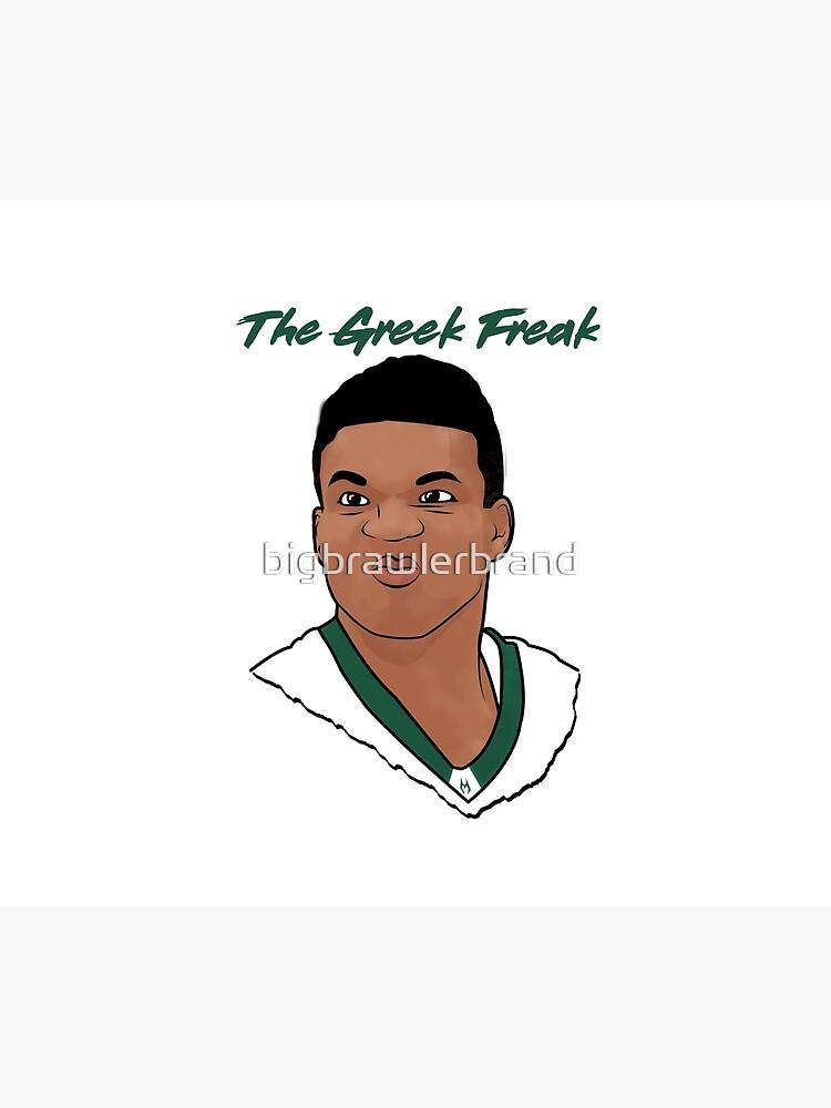The Greek Freak by bigbrawlerbrand