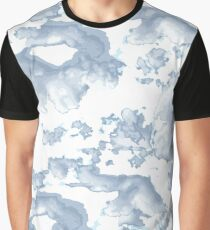Crazy Cool Cloudy Skies Design Graphic T-Shirt