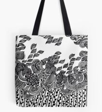 Wind and Leaves Tote Bag