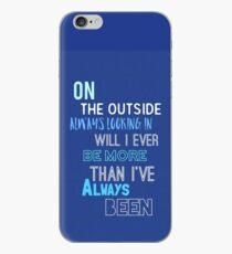 DEH - Waving Through a window  iPhone Case