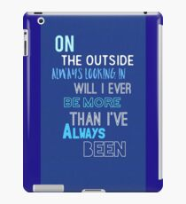 DEH - Waving Through a window  iPad Case/Skin