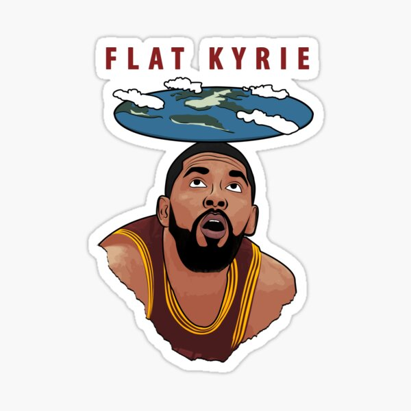 Flat Kyrie Sticker