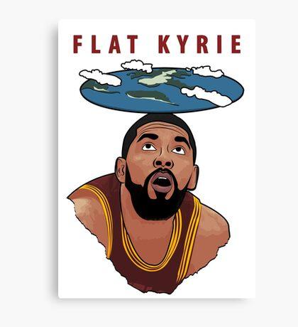 Flat Kyrie Canvas Print