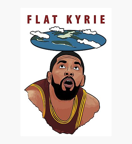 Flat Kyrie Photographic Print