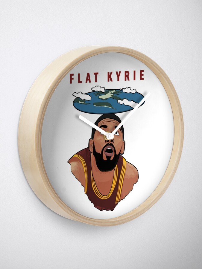 Alternate view of Flat Kyrie Clock