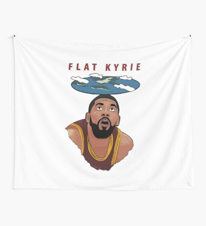 Flat Kyrie Wall Tapestry