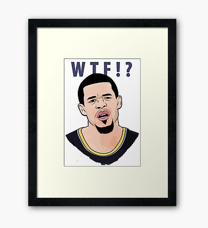WTF!? Framed Print