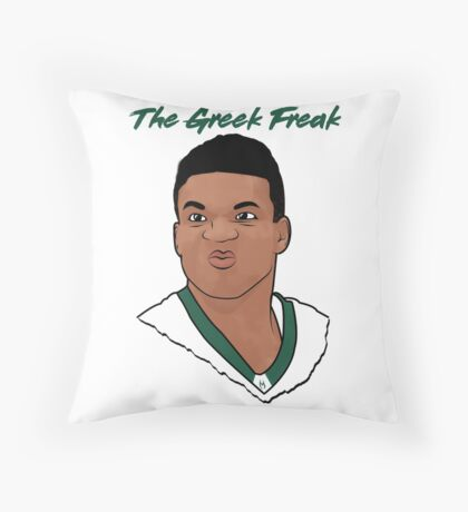 The Greek Freak Floor Pillow