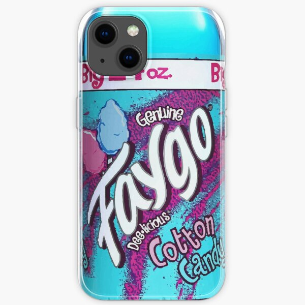 Cotton Candy Faygo iPhone Soft Case