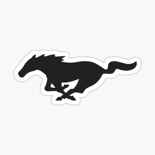 Ford Mustang horse  Sticker