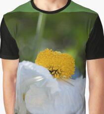 Frilly Poppy Flower Graphic T-Shirt