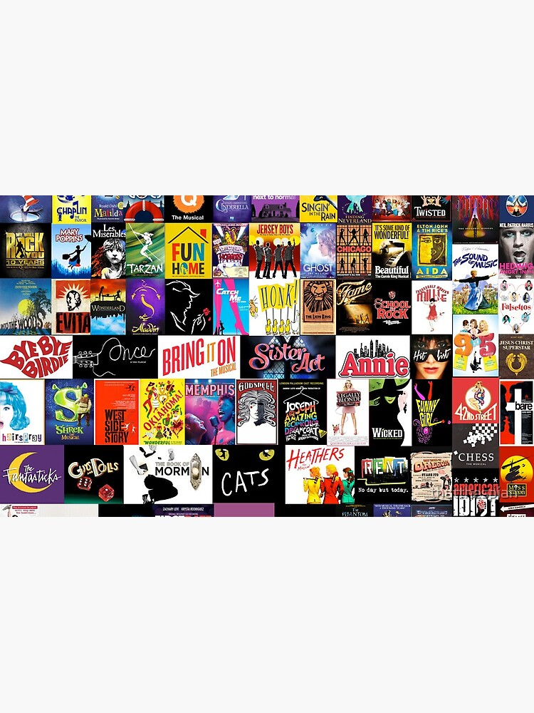 MUSICALS! (Duvet, Clothing, Book, Pillow, Sticker, Case, Mug etc)  by thatthespian