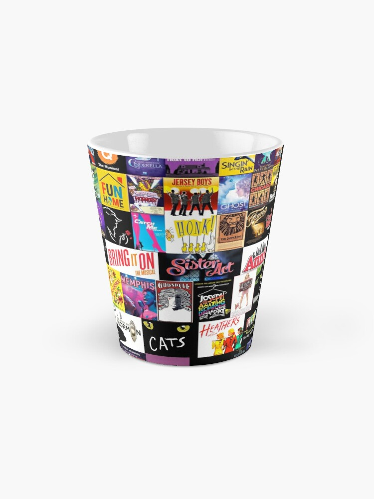 Alternate view of MUSICALS! (Duvet, Clothing, Book, Pillow, Sticker, Case, Mug etc)  Mug