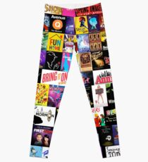 MUSICALS! (Duvet, Clothing, Book, Pillow, Sticker, Case, Mug etc)  Leggings