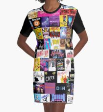 MUSICALS! Graphic T-Shirt Dress