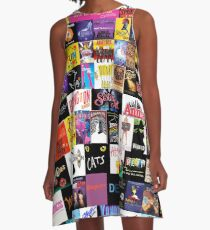 MUSICALS! (Duvet, Clothing, Book, Pillow, Sticker, Case, Mug etc)  A-Line Dress