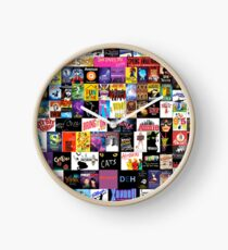 MUSICALS! (Duvet, Clothing, Book, Pillow, Sticker, Case, Mug etc)  Clock