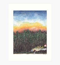 Worlds Within a World Art Print