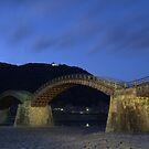 Kintai Bridge at Night by Michael McCasland