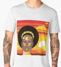 African Princess Men's Premium T-Shirt