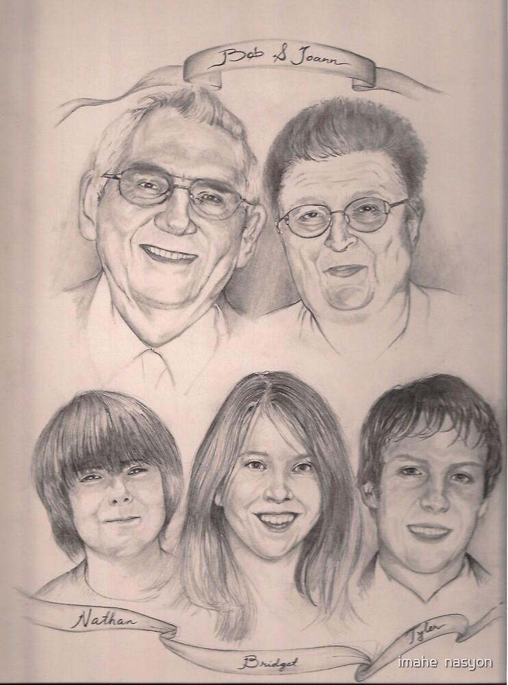 Family sketch by imahe  nasyon