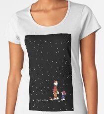 Calvin N Hobbes Night Bape Women's Premium T-Shirt