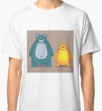 Cartoon bears Classic T-Shirt
