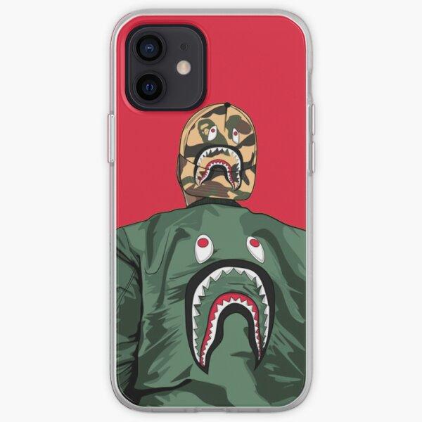 B A P E iPhone Soft Case