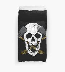 Skull Axe Duvet Cover