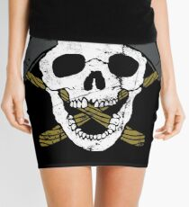 Skull Axe Mini Skirt