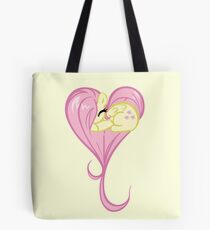 Heart Of Fluttershy Tote Bag