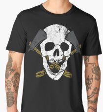 Skull Axe Men's Premium T-Shirt