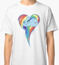 Heart Of Rainbow Dash Classic T-Shirt