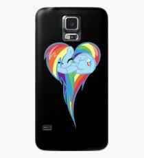 Heart Of Rainbow Dash Case/Skin for Samsung Galaxy