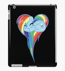 Heart Of Rainbow Dash iPad Case/Skin