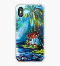 Vinilo o funda para iPhone Antigua granja hawaiana