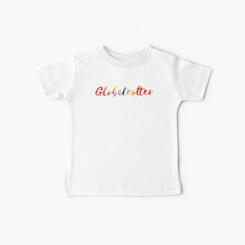 Globetrotter in Rainbow Baby T-Shirt