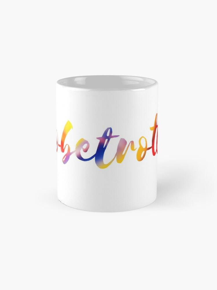 Alternate view of Globetrotter in Rainbow Mug