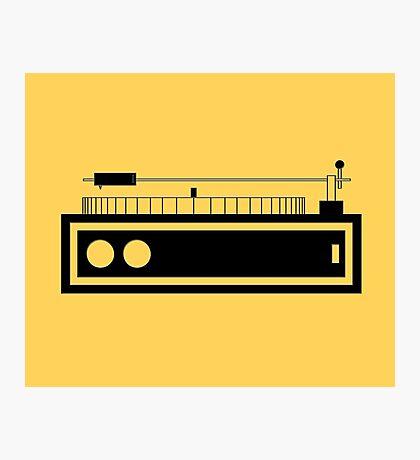 record player  Photographic Print