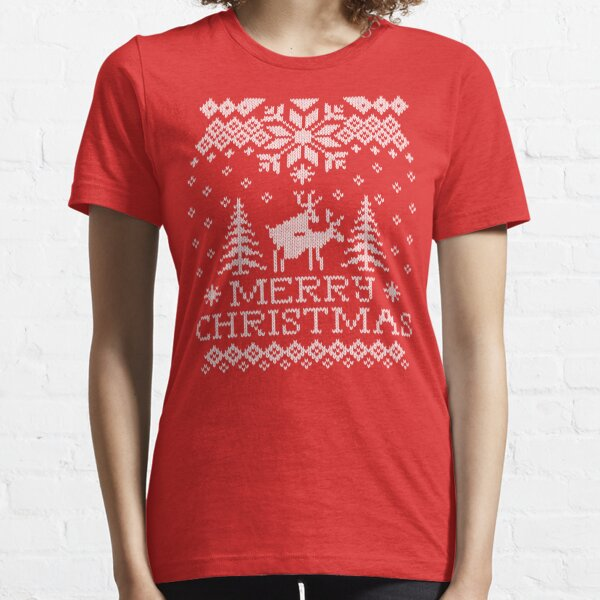 Ugly Sweater - Reindeer Humping Essential T-Shirt