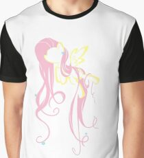 Flowery Flutter Graphic T-Shirt