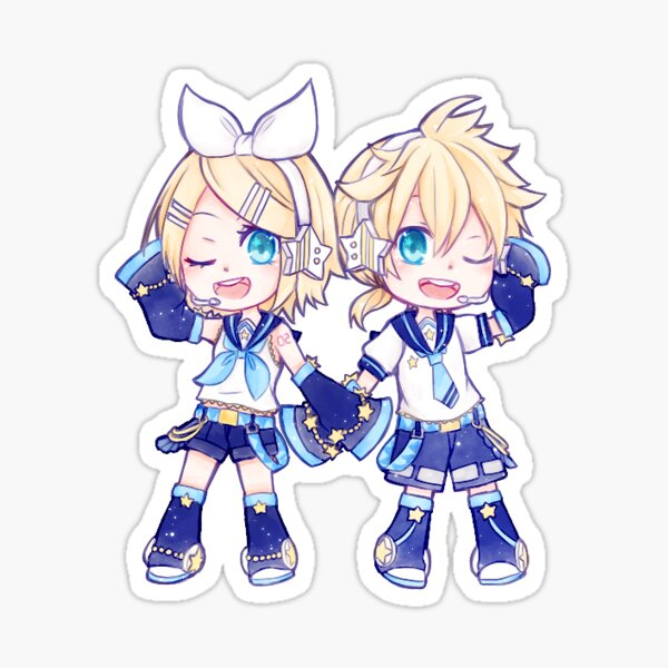 Starry Kagamine Sticker Sticker