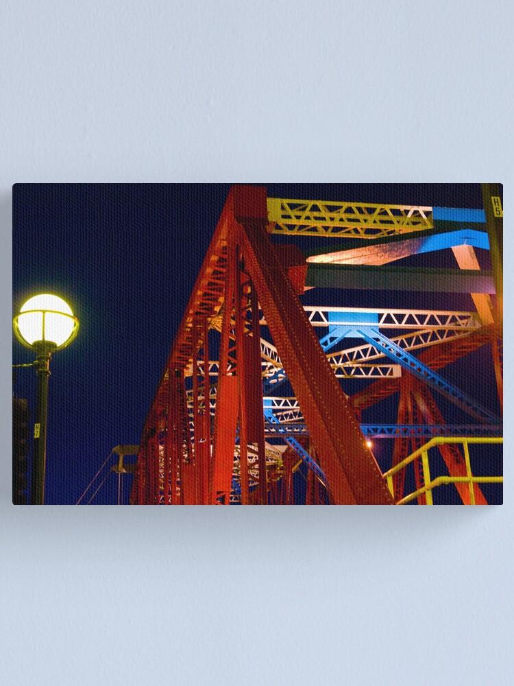 Alternate view of Modern Bridge Canvas Print