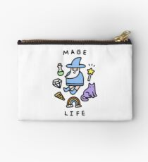 Mage Life Zipper Pouch