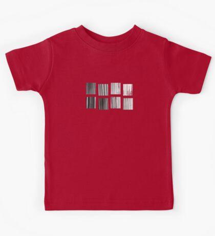 Fragments - B&W Halftone Kids Clothes